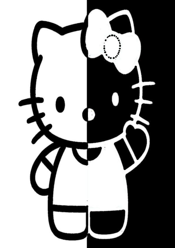 ausmalbilder beste hello kitty-2