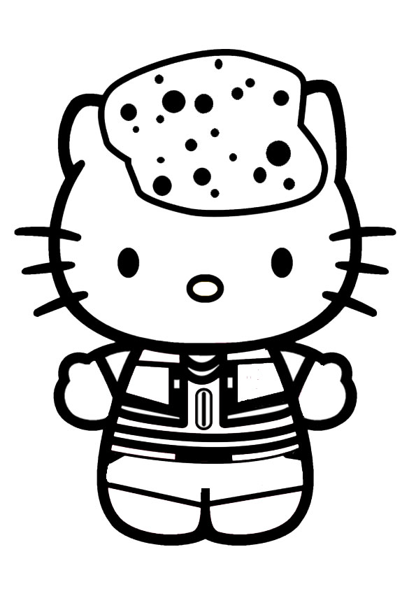 ausmalbilder beste hello kitty-5