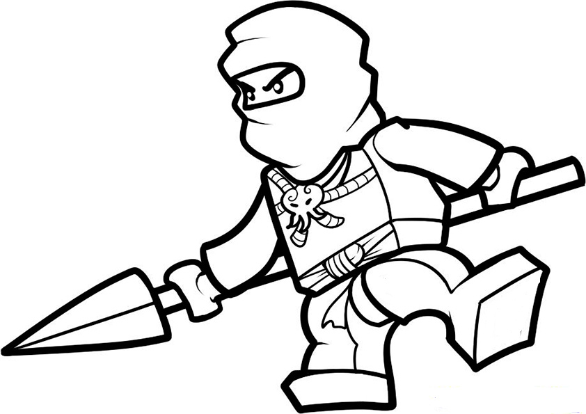 ausmalbilder beste ninjago -1