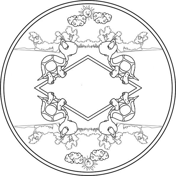 ausmalbilder beste  mandala-1