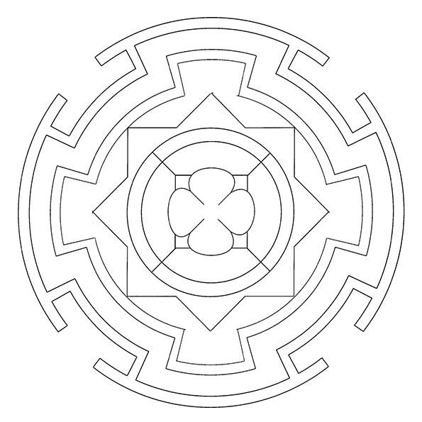 ausmalbilder beste mandala-3