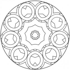 ausmalbilder beste mandala-4