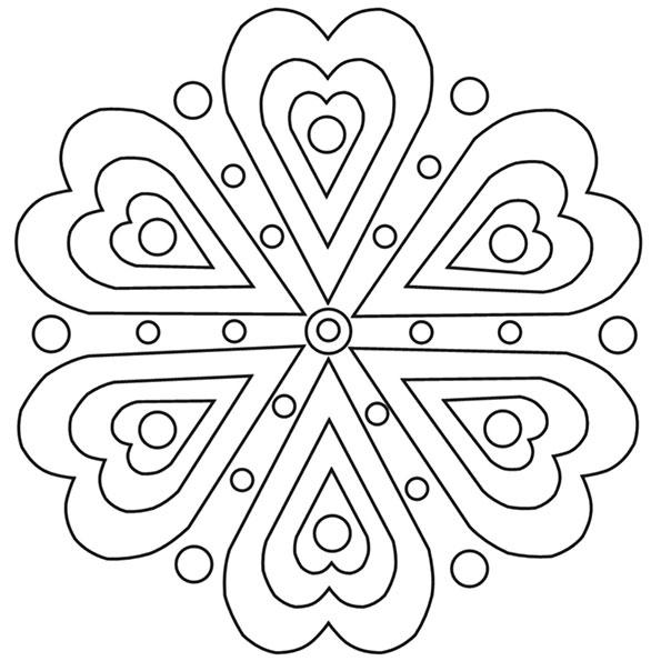ausmalbilder beste mandala-5