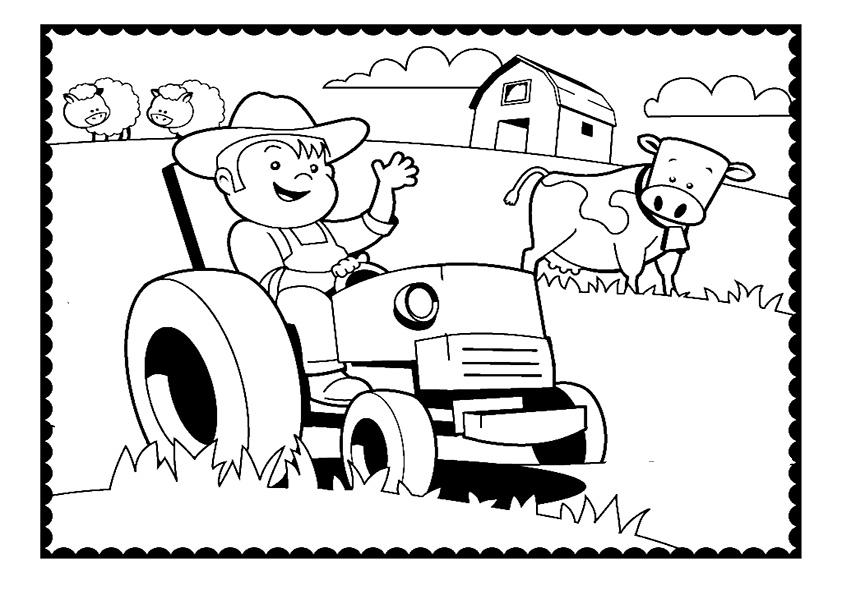 ausmalbilder beste traktor -2