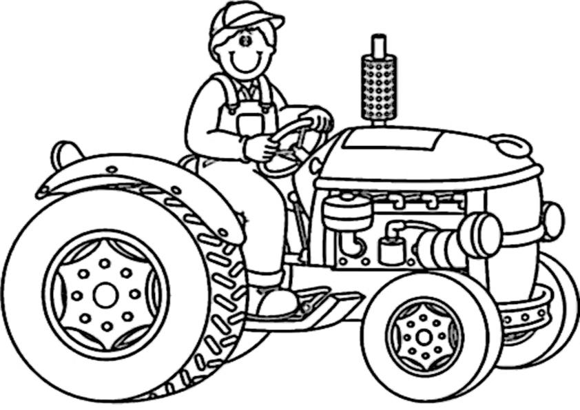 ausmalbilder beste traktor -4