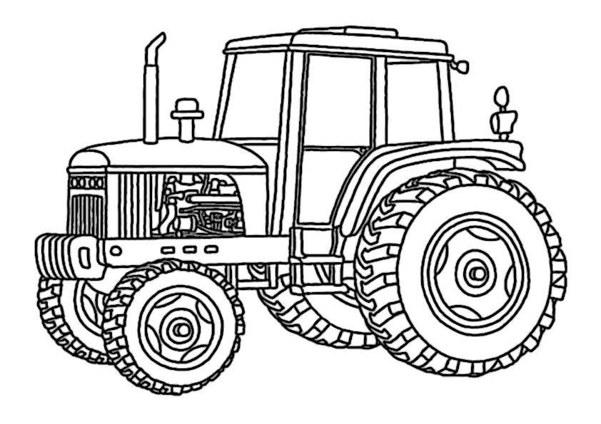 ausmalbilder beste traktor -5