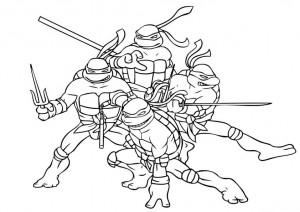 beste ausmalbilder ninja turtles-5