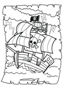 ausmalbilder beste piraten -3