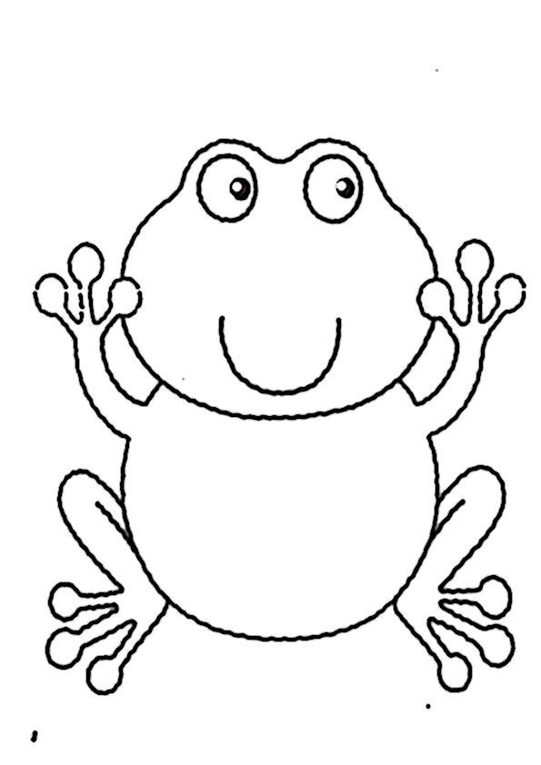 frosch ausmalbilder beste-1