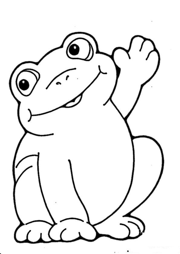 frosch ausmalbilder beste-5