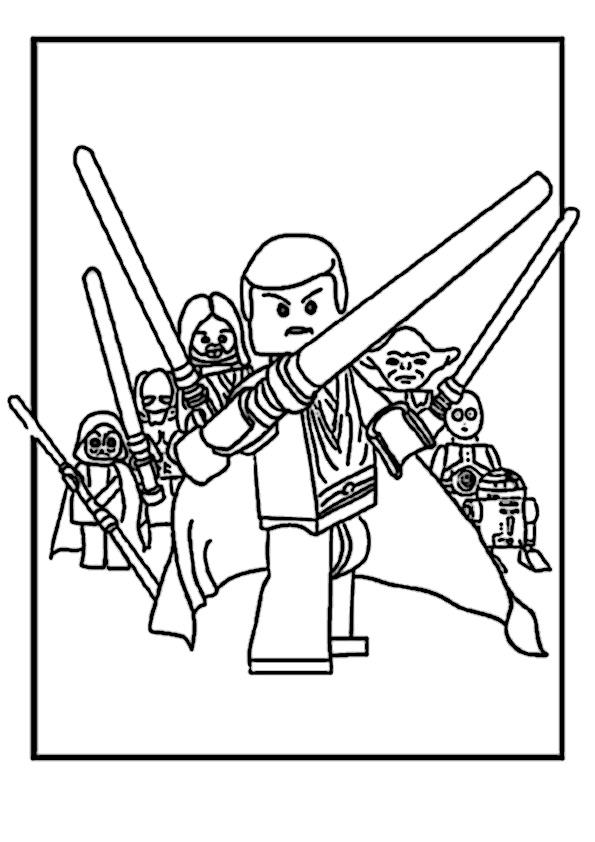 Star Wars Lego Ausmalbilder Beste 3 Beste Ausmalbilder