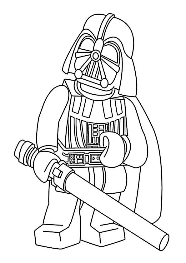 Tolle Lego Star Wars Druckbare Malvorlagen Zeitgenössisch - Ideen ...