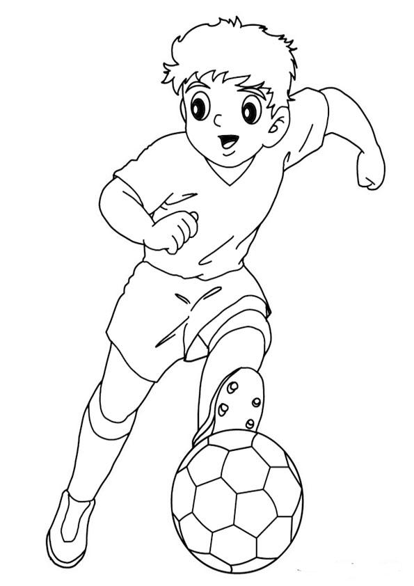 Ausmalbilder Beste Fussball 3 Beste Ausmalbilder
