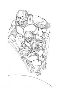 ausmalbilder beste ant-man-1