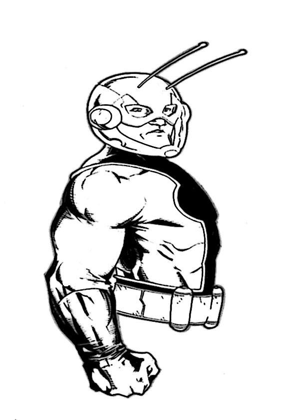 ausmalbilder ant-man-3