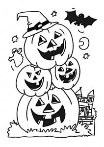 ausmalbilder halloween -10