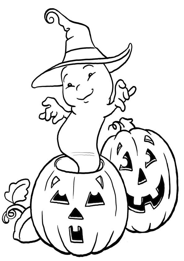 beste ausmalbilder  halloween -18