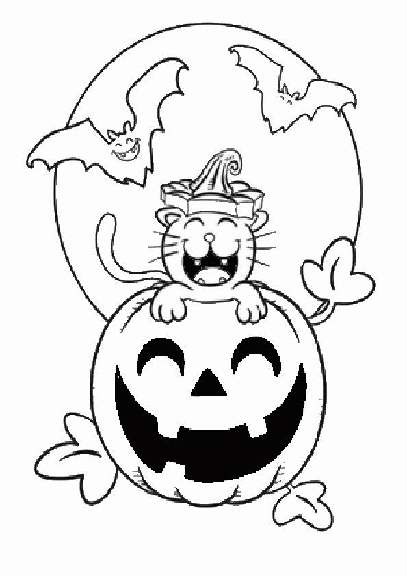 beste ausmalbilder  halloween -21