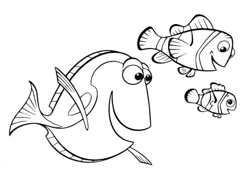 ausmalbilder beste fische-2