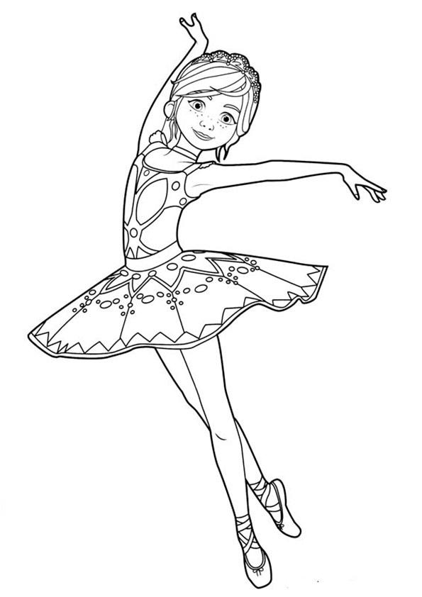 ausmalbilder beste ballerina-10