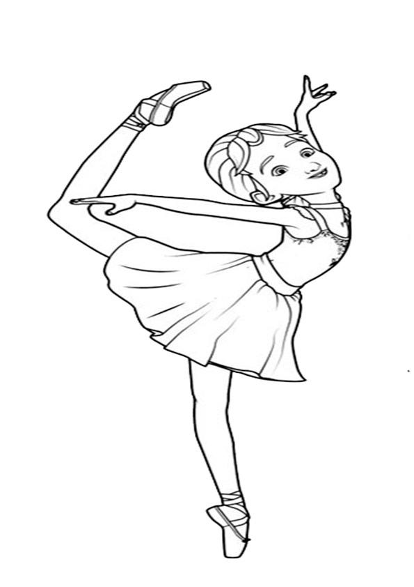 ausmalbilder beste ballerina-5