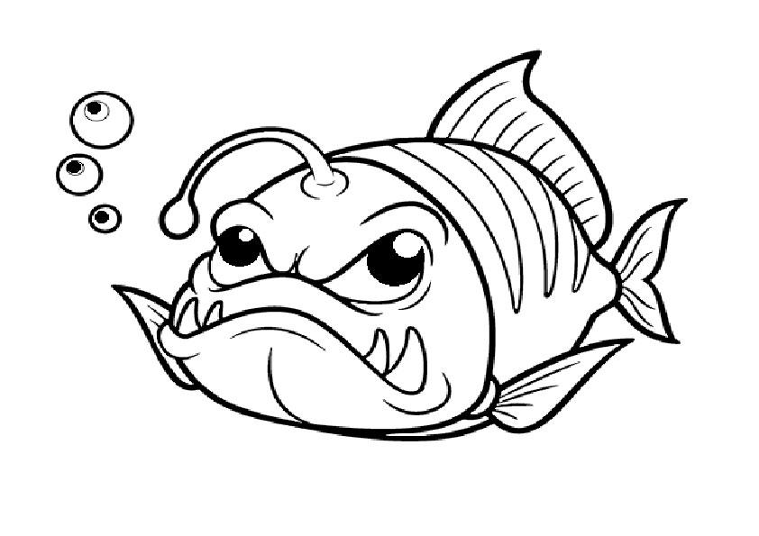 ausmalbilder beste fische-4