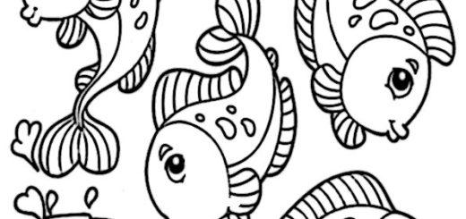 ausmalbilder beste fische-10