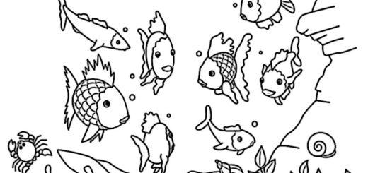 ausmalbilder beste fische-5
