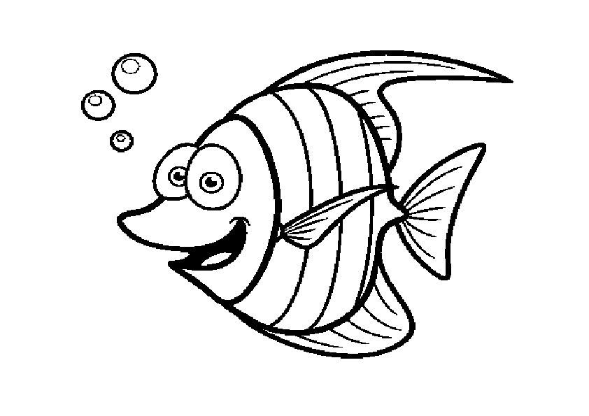 ausmalbilder beste fische-8