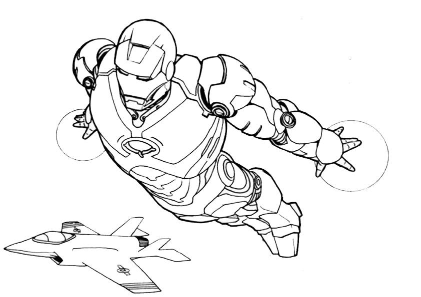 ausmalbilder beste ironman-9