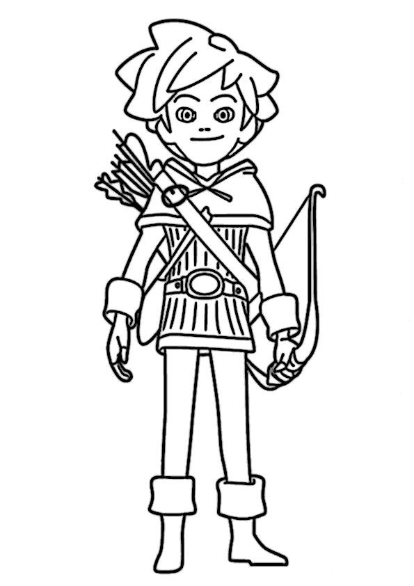 Robin Hood 1 Beste Ausmalbilder