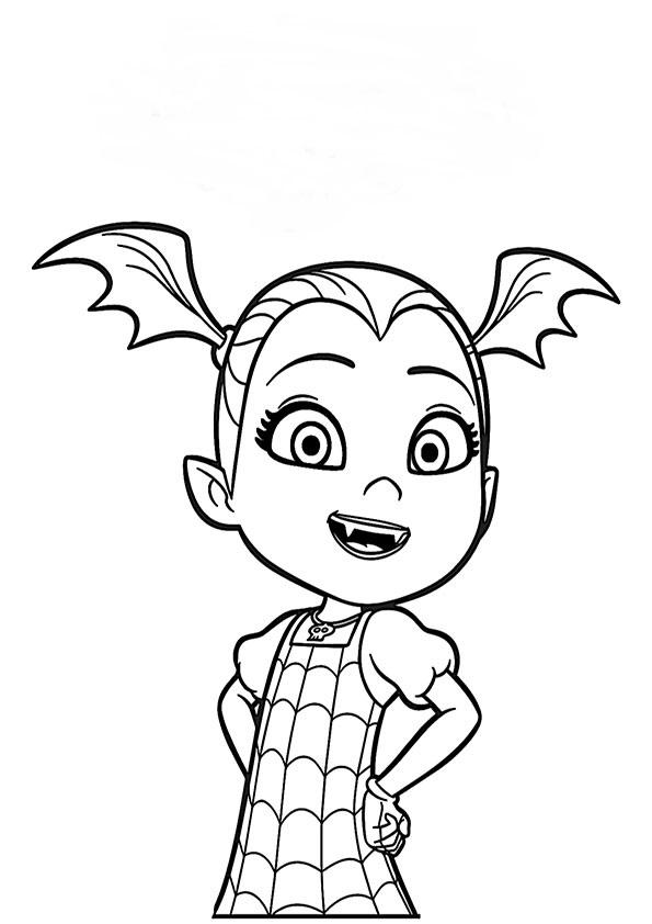 ausmalbilder beste vampirina-3