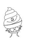 ausmalbilder beste emoji der film -5