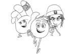 ausmalbilder emoji der film 11