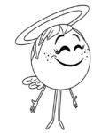 ausmalbilder beste emoji der film -9