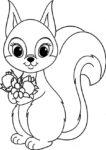 ausmalbilder beste eichhörnchen-8