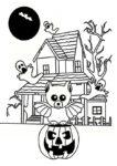 beste ausmalbilder halloween -33
