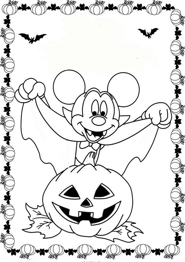 beste ausmalbilder halloween -30