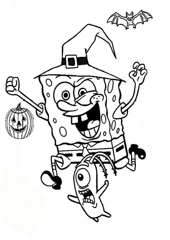 beste ausmalbilder halloween -34