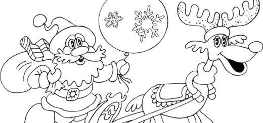 ausmalbilder beste weihnachten-26