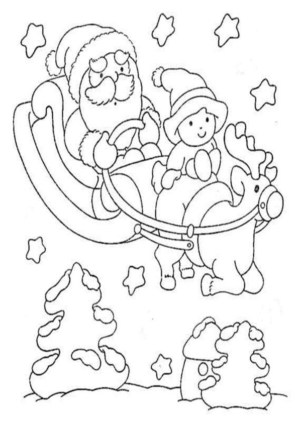 ausmalbilder beste weihnachten-27