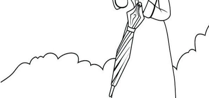 ausmalbilder beste mary poppins-2