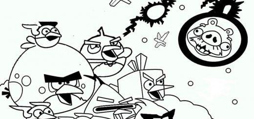 ausmalbilder beste angry birds -3