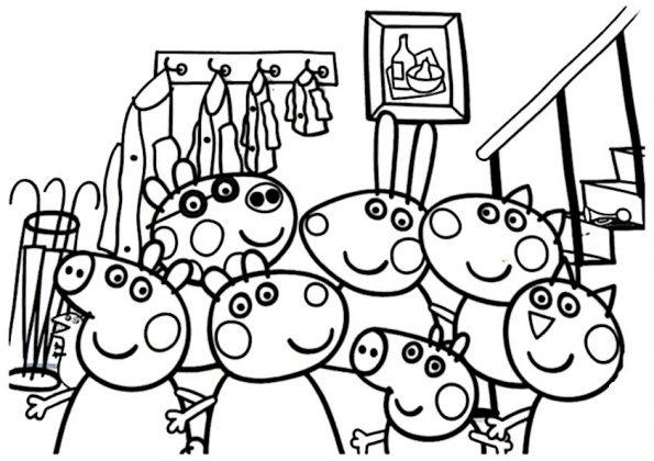 ausmalbilder beste peppa pig -9