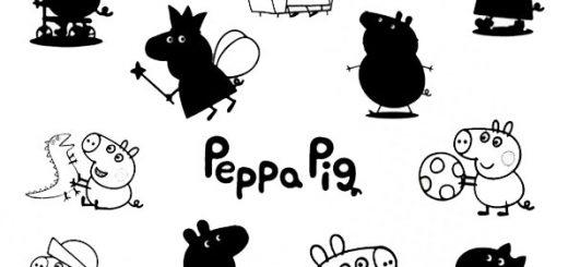 ausmalbilder beste peppa pig -14