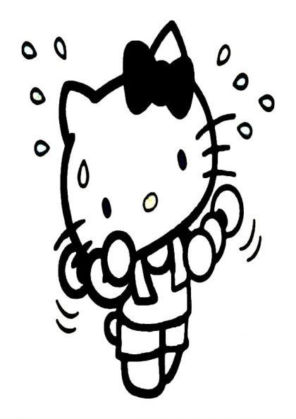 ausmalbilder beste hello kitty-6