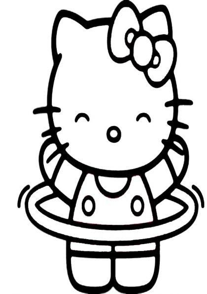 ausmalbilder beste hello kitty-7
