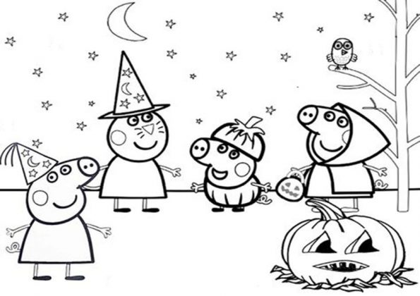 ausmalbilder beste  halloween -46