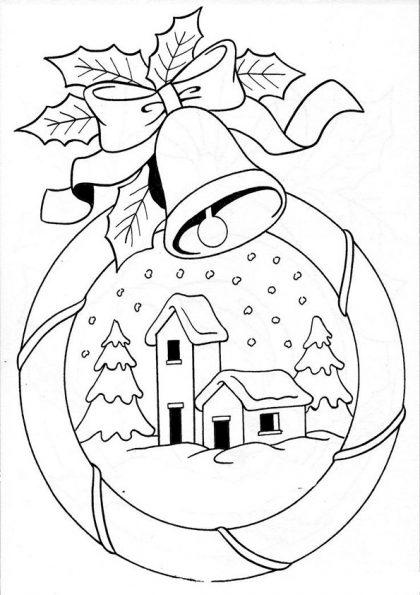 ausmalbilder beste weihnachten -44